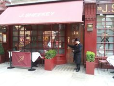 J. Sheekey restaurant in London.