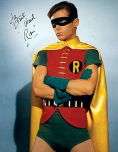 Burt Ward (Robin, BATMAN)