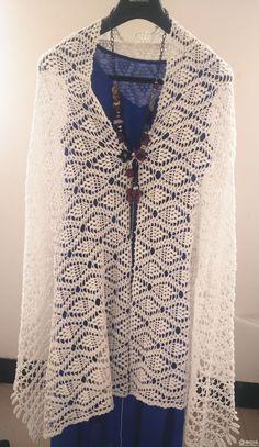 5 leaves fringed crochet lace pattern pineapple Tai Wai Phi - Weaving Life