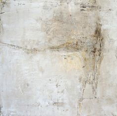 Jean Meyers POEM 3  oil and wax on panel