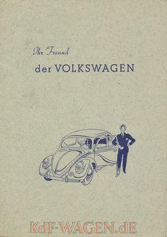 VW - 1949 - Ihr Freund der VOLKSWAGEN - [10040]-1