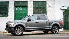 Ford F-150 Sport Magnetic grey, side