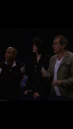 Michael Jackson This Is It rehearsals, with Travis Payne and Kenny Ortega.