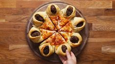 Meatball-Stuffed Crust Pizza Star - YouTube