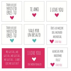 imprimibles san valentin: