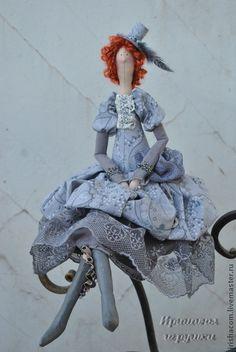 Куклы Тильды ручной работы. Ярмарка Мастеров - ручная работа Моник. Handmade.