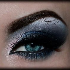 Dark Smokey by Angie A.  Click the pic to see the products she used. #beauty #makeup #nightout