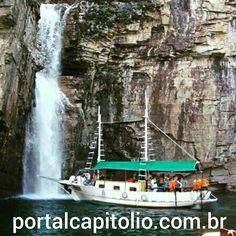 Portal Capitólio por Eulin Ribeiro : Passeio de Escuna no Lago de Furnas