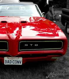 GTO Convertible - my fav -- Curated by: Williams Automotive | 1790 KLO Rd. Kelowna | 250-860 2812