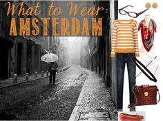 What to Wear in Amsterdam: Rainy Days