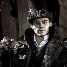 "Me as my Steampunk Western gentlemans character Jack ""the Wicked Gambler"" Duece."