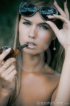 women smoking pipes- this is for my boyfriend