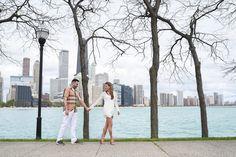 Chicago, engagement, olive park, romantic, skyline, lakeshore, beach, photographer, photography