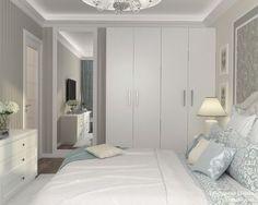 Женская классика. Трехкомнатная квартира в Москве. Спальня