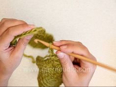 Crocheting Squares together