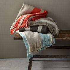 Striped Softest Throws