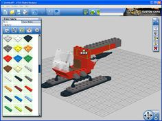 Virtual Lego online! The Lego Digital Designer for Mac OS X and Windows is essentially a CAD program which uses Lego bricks to implement its designs. Try it out when you're planning your next amazing creation...