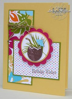 Ahhhh....Tropical Island Oasis by LoriDreamsStampin - Cards and Paper Crafts at Splitcoaststampers