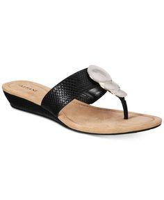 Alfani Women's Fleurr Wedge Sandals, Only At Macy's