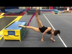 It's really easy to get stuck doing oversplits and jumps with with a theraband, so today, especially as people are winding down from state meets, regionals etc Gymnastics Academy, Gymnastics Floor, Tumbling Gymnastics, Gymnastics Skills, Gymnastics Flexibility, Amazing Gymnastics, Gymnastics Videos, Gymnastics Coaching, Gymnastics Quotes