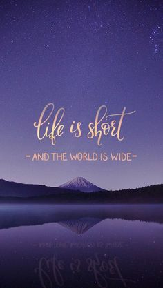 Life is short // wallpaper, backgrounds for your iphone or galaxy s. - Life is short // wallpaper, backgrounds for your iphone or galaxy smartphone Estás en - New Quotes, Happy Quotes, Inspirational Quotes, Qoutes, Wisdom Quotes, Iphone Wallpaper Quotes Inspirational, Chill Quotes, Cute Wallpapers Quotes, Lost Quotes