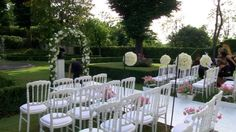 wedding in Tuscany by Franci's Flowers wedding design. 'm wedding designer and coordinator of luxury wedding of Paula And Louis on 30th of June 2012 and I ' m happy to share with you this video with all luxury details from arch of flowers to stunning tall centerpieces, both ceremony and reception were held at Villa Vedetta in Florence .