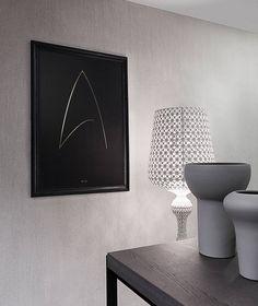 Minimal Poster - Gold Foil Poster - Art print - Hot Gold Foil - Luxury - The One Ring - Star Trek Minimal Poster