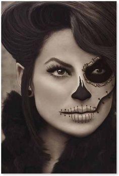 catrina makeup - Google Search