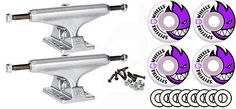 Other Skate- and Longboarding 16265: Independent 149Mm Skateboard Trucks 54Mm Spitfire Wheels, Bearings Package -> BUY IT NOW ONLY: $57.24 on eBay!