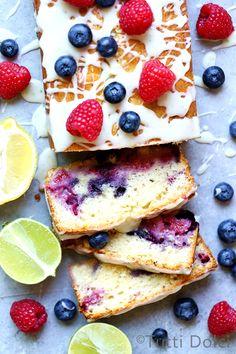 Citrus Berry Tea Cake, a simple and scrumptious tea cake bursting with berries Tea Cakes, Cupcake Cakes, Fruit Cakes, Cupcakes, Cake Recipes, Dessert Recipes, Sweet Recipes, Loaf Cake, Sweet Bread