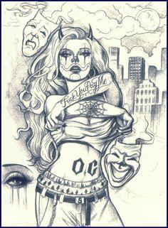 OC Clown girl