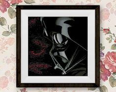 BOGO FREE Darth Vader Cross Stitch Pattern Star Wars by StitchLine