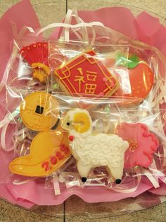 Cookie CNY package