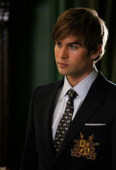 Chace Crawford as Nate Archibald Gossip Girl Nate, Gossip Girls, Mode Gossip Girl, Gossip Girl Fashion, Men Fashion, Nate Archibald, Chace Crawford, Blair Waldorf, Pretty Little Liars