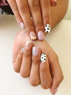 Casual Nails, Stylish Nails, Trendy Nails, Simple Acrylic Nails, Simple Nails, Funky Nails, Cute Nails, One Color Nails, Dipped Nails