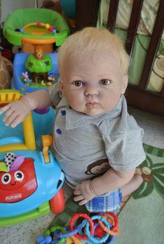 OOAK Reborn 26 Toddler Boy Noah Baby Doll Art Newborn 9 Month Old | eBay