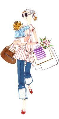 Sujean Rim: The Daily Candy Illustrator Beatrix Potter, I Love Fashion, Fashion Art, Illustrator, Jolie Photo, Illustration Sketches, Pretty Pastel, Fashion Sketches, Fashion Illustrations