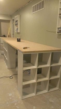 42 Perfect Ikea Craft table with storage ideas - HomeCoach - 25 Bes . - 42 Perfect Ikea Craft Room Table with Storage Ideas – HomeCoach – 25 Best IKEA Craft Room Table - Craft Room Storage, Craft Tables With Storage, Craft Room Desk, Craft Room Tables, Cricut Craft Room, Sewing Room Organization, Craftroom Storage Ideas, Office Storage Ideas, Craft Table Ikea