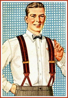 Brace Yourself!  Braces / Suspenders Leather Tabs -ebay $0.99