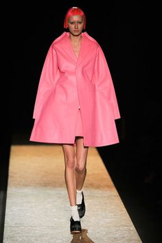 Shades of Schiaparelli - Comme des Garcon. Because I feel like Pink!