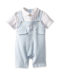 Emile et Rose Baby Boy Bibshort Romper at MYHABIT
