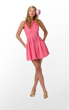 Lilly Pulitzer Dress.  Love pink
