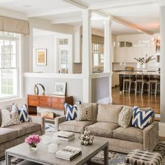 Living Room Furniture Neutral Design Ideas, Pictures, Remodel, and Decor - page 6