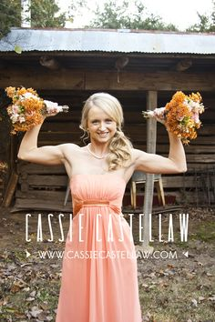 Cassie Castellaw // NYC Photographer // New Jersey Photographer Tangerine Bridesmaid Dresses, October Fall, Beautiful Bouquets, Nyc Photographers, Coral Orange, Park Weddings, Wedding Welcome, Happily Ever After, Cassie