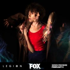 Aubrey Plaza as Lenny Busker in Legion TV series 2017