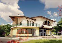 Casa cu etaj 70 House Design Pictures, Modern House Facades, Small House Interior Design, Kerala House Design, Kerala Houses, Luxury House Plans, Facade House, Design Case, Home Fashion