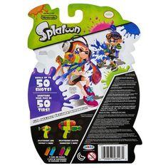 Splatoon Splattershot Refill 2 Packs -Blue / Orange Image 2 of 4 Nintendo Splatoon, Pretend Play, Blue Orange, Packing, Walmart, Image, Bag Packaging, At Walmart
