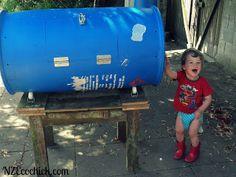 NZ Ecochick: Compost tumbler