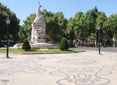 Calçada Portuguesa, Avenida da Liberdade, Lisboa