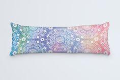 Bohemian Body Pillow Colorful Large Pillow Body by DesignMargarida